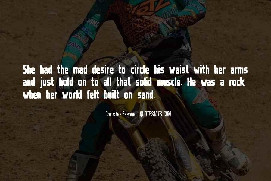 Sand And Rock Quotes #715409