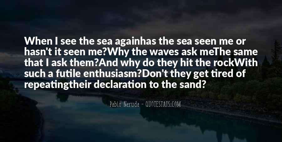 Sand And Rock Quotes #737075