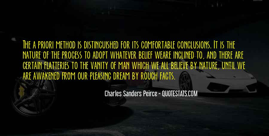 Sanders Peirce Quotes #1231264