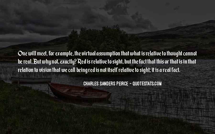 Sanders Peirce Quotes #1490017