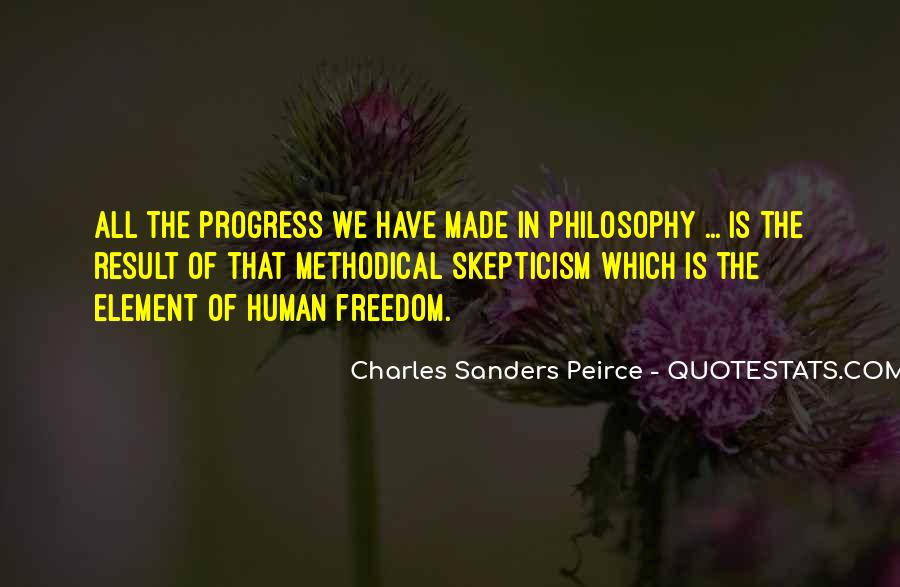 Sanders Peirce Quotes #1602386