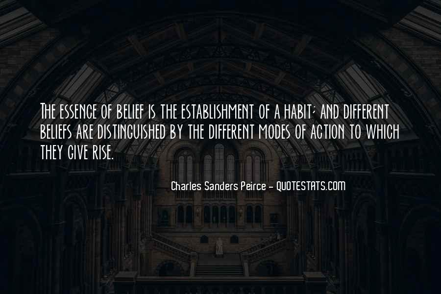 Sanders Peirce Quotes #190045