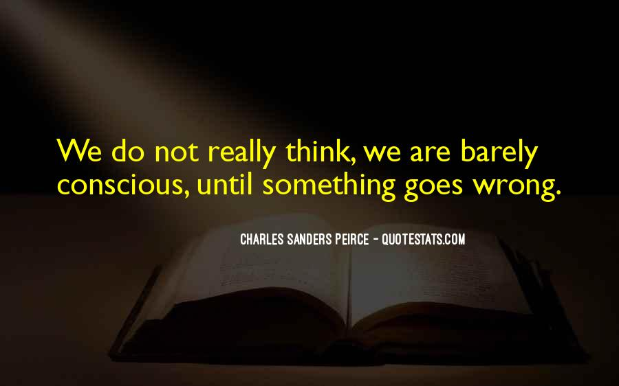 Sanders Peirce Quotes #460354