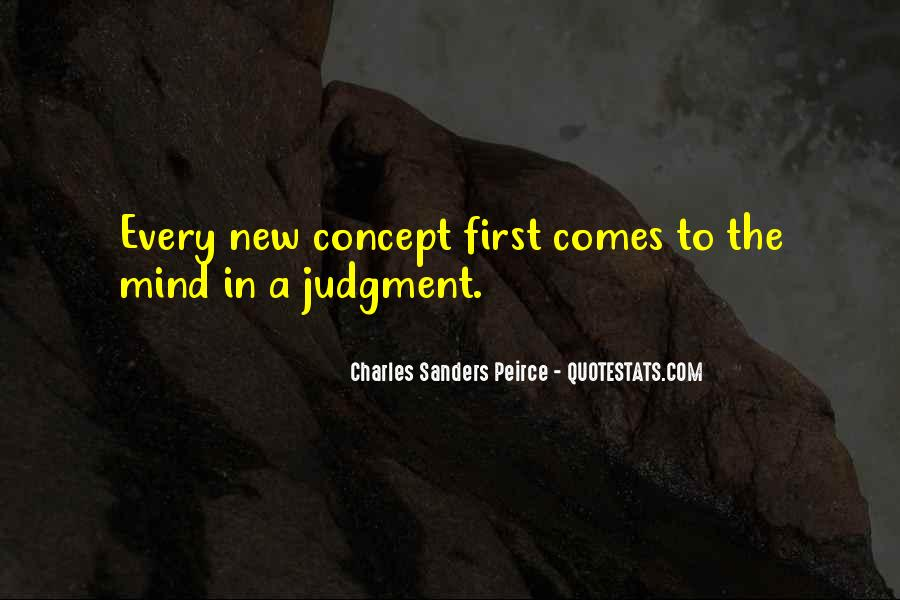 Sanders Peirce Quotes #521538