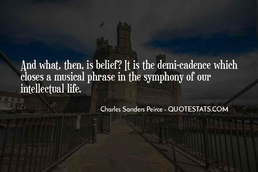 Sanders Peirce Quotes #695903