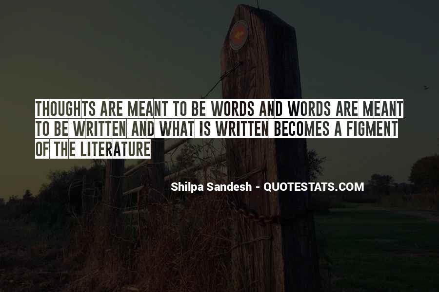 Sandesh Quotes #681352