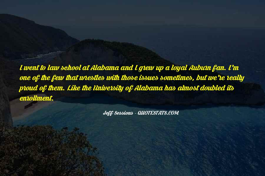 Quotes About Auburn Alabama #1002930
