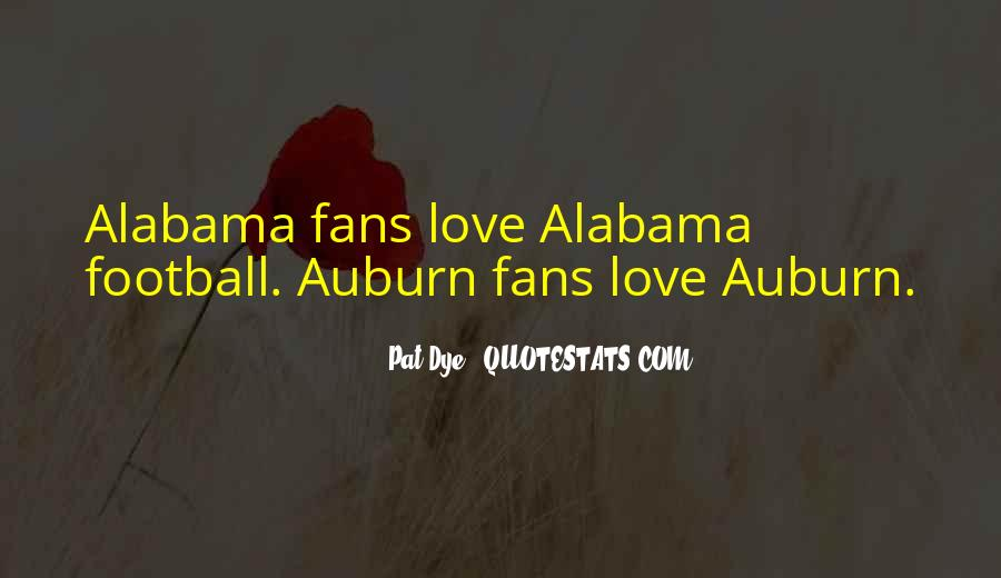 Quotes About Auburn Alabama #116478