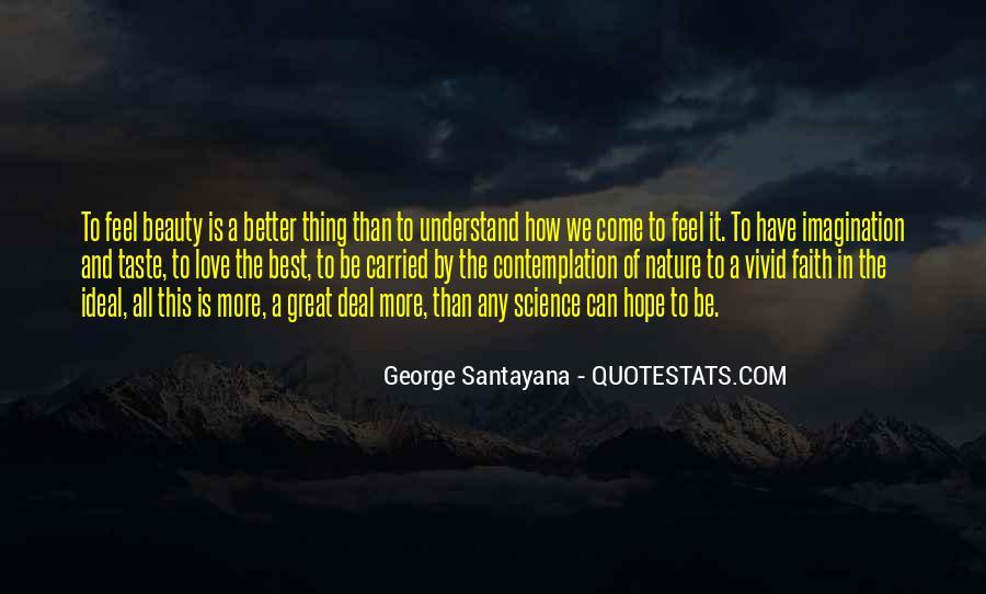 Santayana Beauty Quotes #1129490