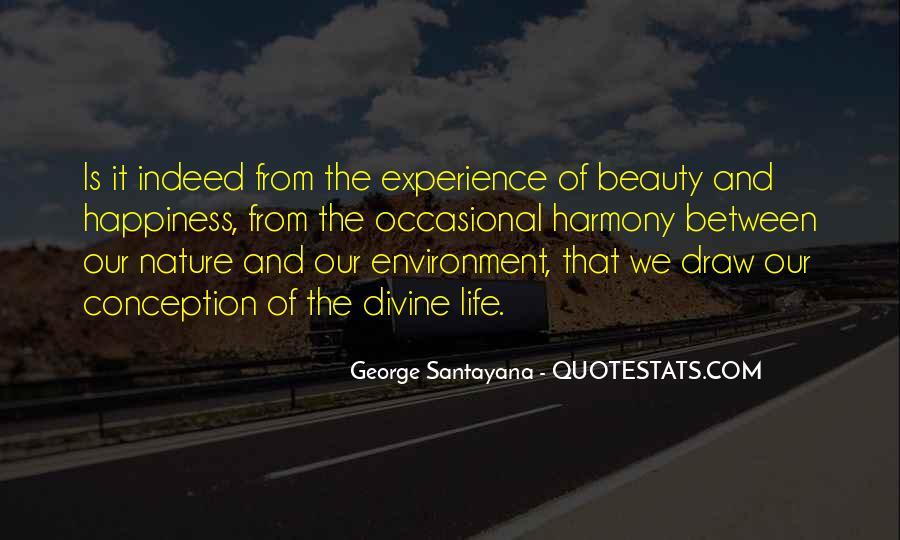 Santayana Beauty Quotes #1491156