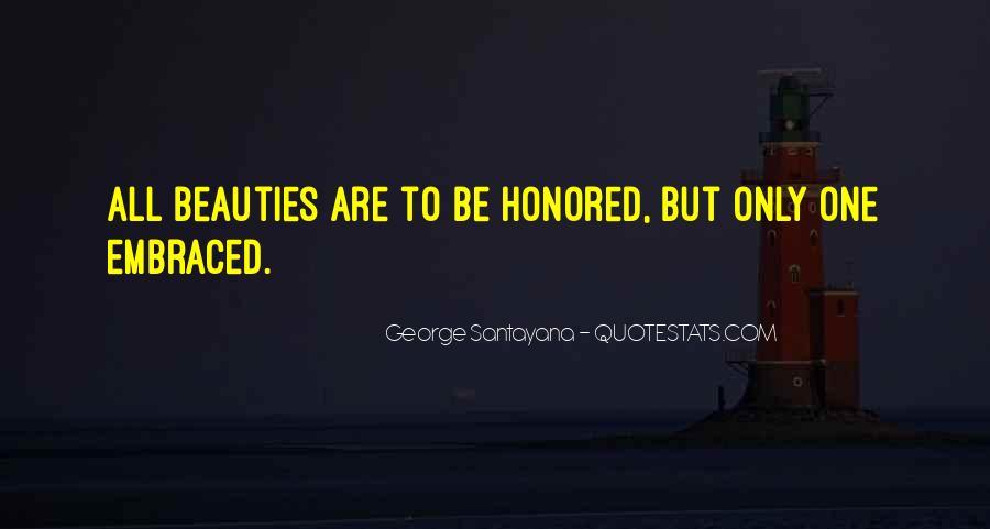 Santayana Beauty Quotes #760130