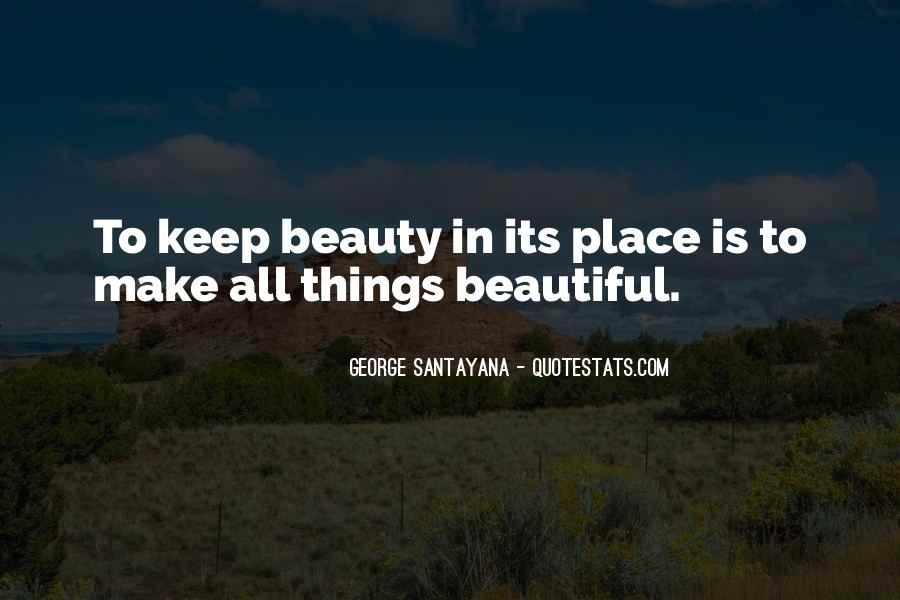 Santayana Beauty Quotes #848117