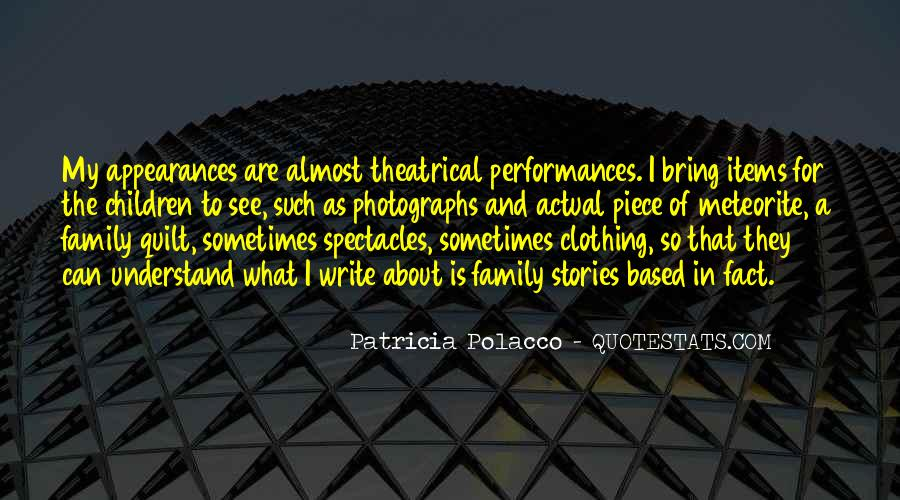 Quotes About Patricia Polacco #1187628