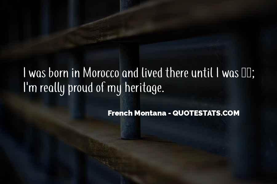 Quotes About French Montana #250023