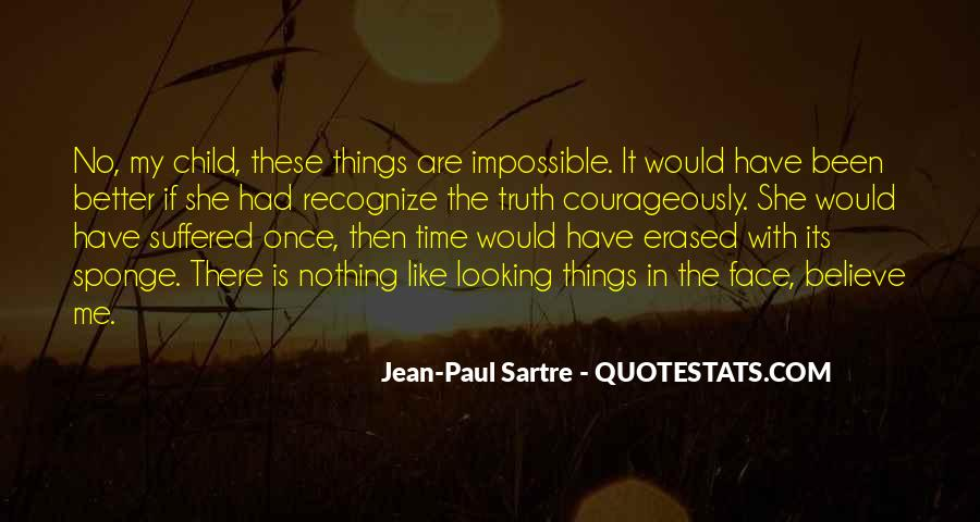 Sartre Nothing Quotes #139900