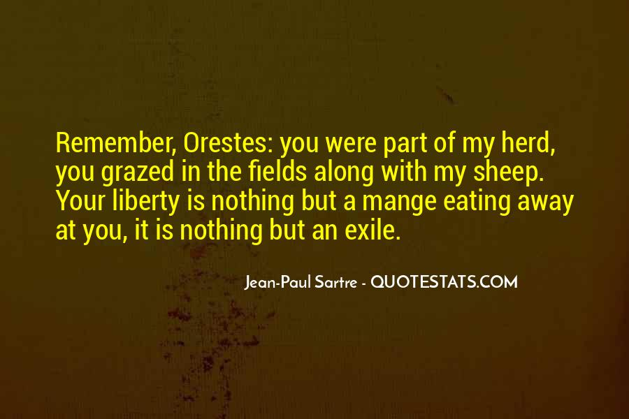 Sartre Nothing Quotes #1462660
