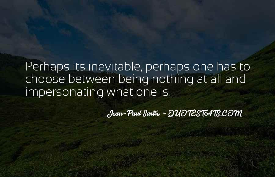 Sartre Nothing Quotes #1772013