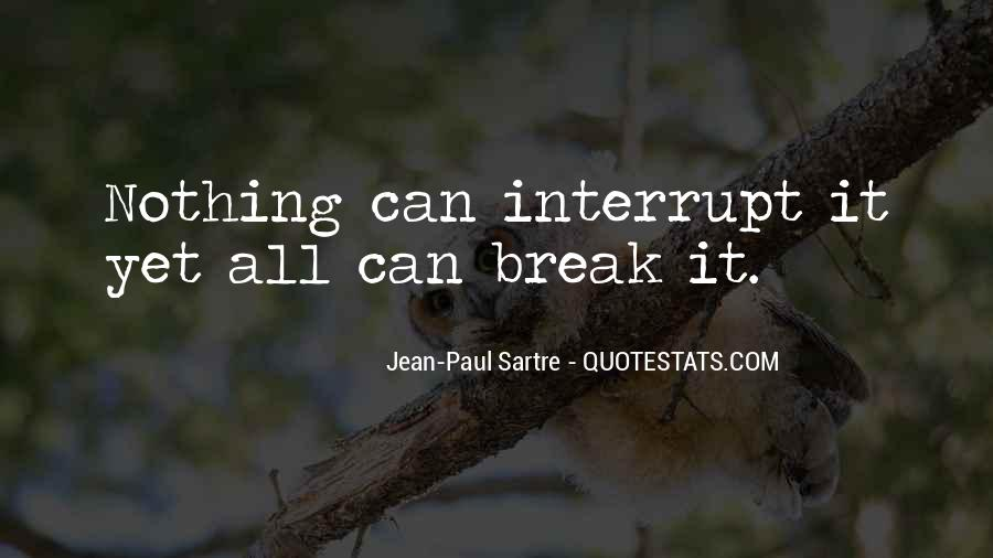 Sartre Nothing Quotes #214755