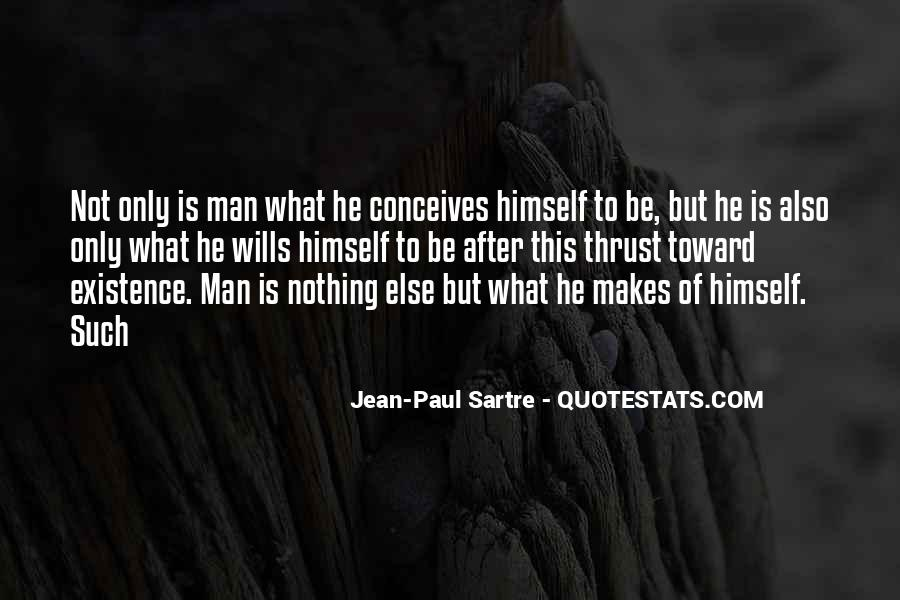 Sartre Nothing Quotes #599861