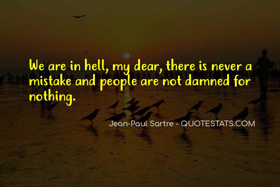 Sartre Nothing Quotes #959732