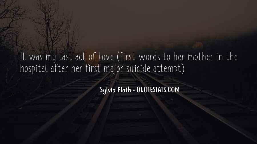 Quotes About Suicidal Love #1115550
