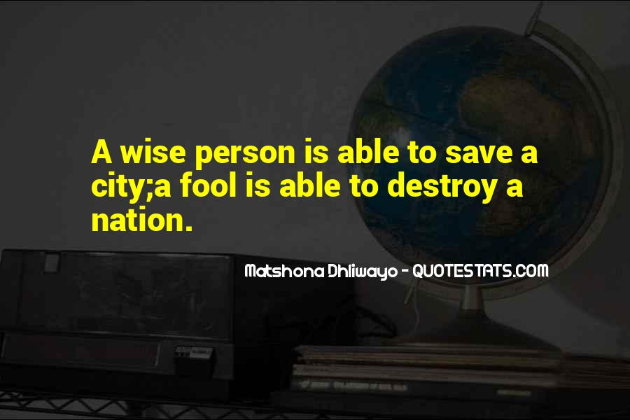 Save The Nation Quotes #1107732