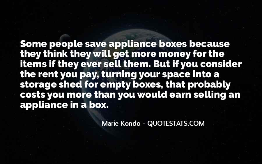 Save Your Money Quotes #1046897