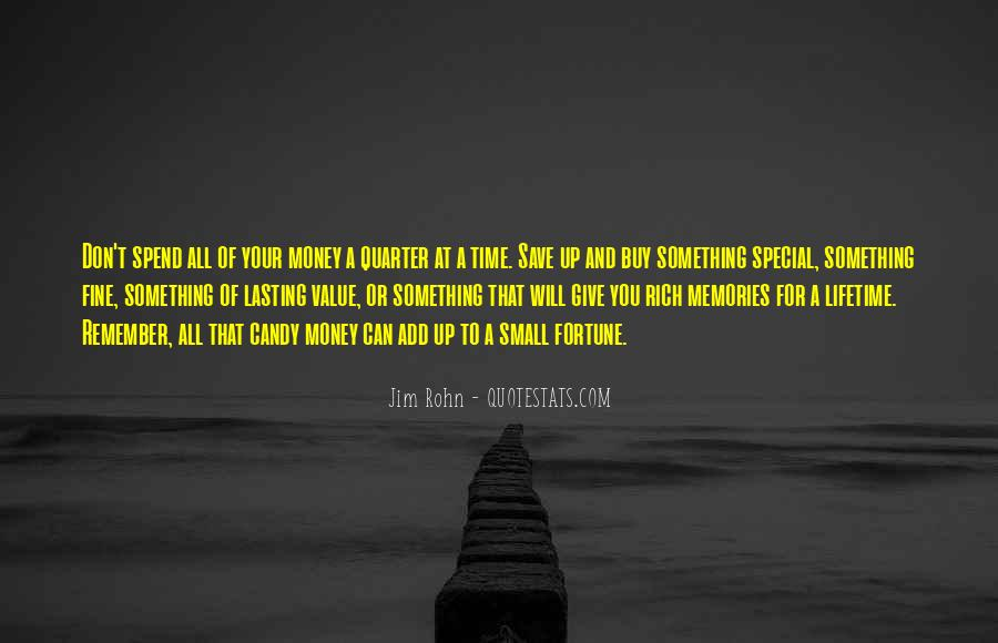 Save Your Money Quotes #1303176