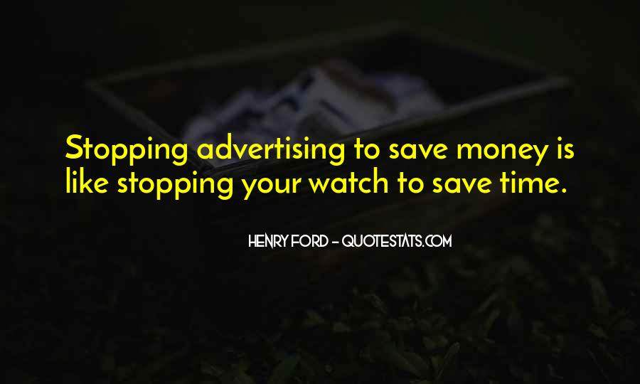 Save Your Money Quotes #1582884