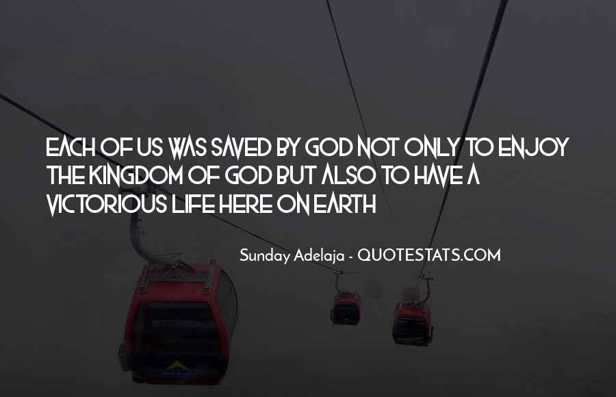 Saved By God Quotes #1015123