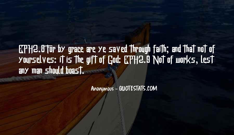 Saved By God Quotes #1135737