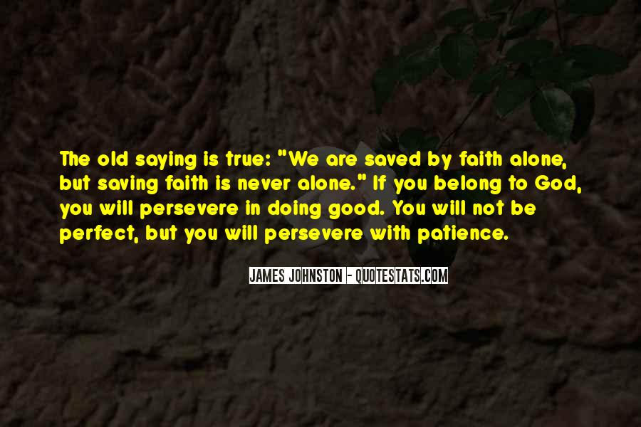 Saved By God Quotes #240962