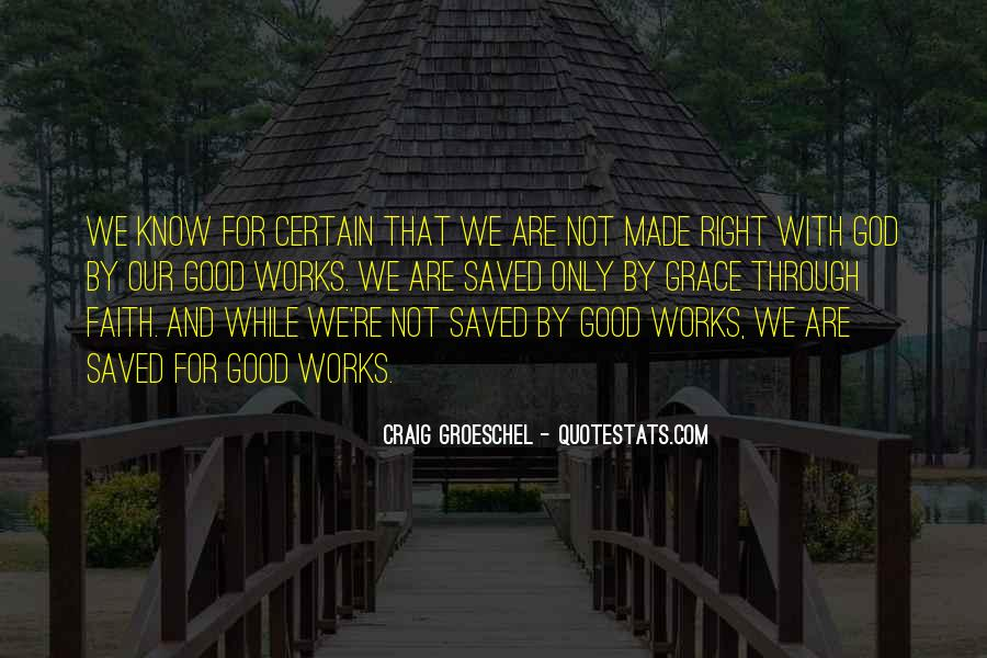 Saved By God Quotes #673576