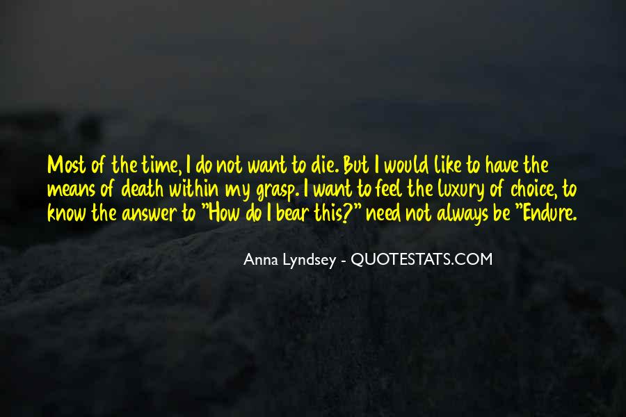 Quotes About Suicidal Death #1455425