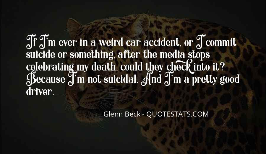 Quotes About Suicidal Death #39398