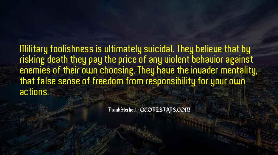 Quotes About Suicidal Death #435665