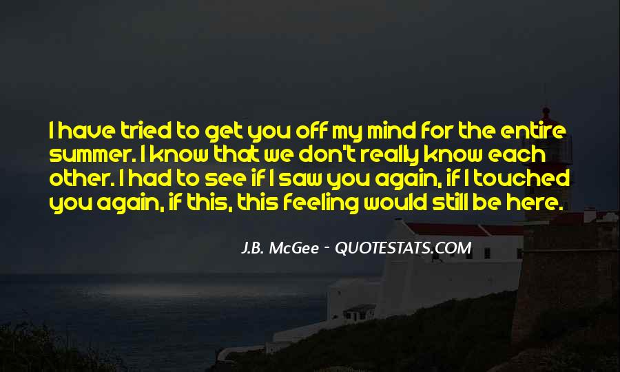 Saw You Again Quotes #1242449