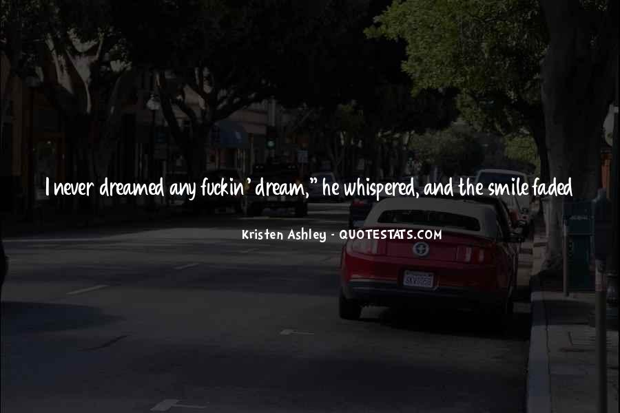 Saw You In Dream Quotes #142221