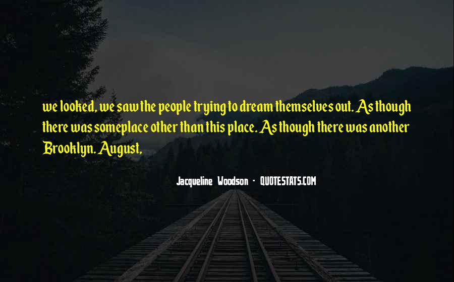 Saw You In Dream Quotes #150640