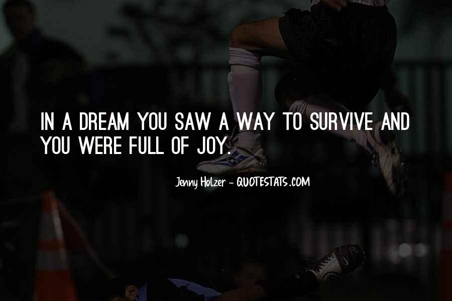 Saw You In Dream Quotes #444545