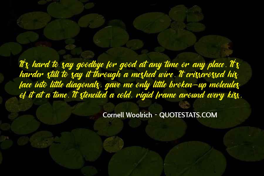 Say Goodbye To Her Quotes #71529