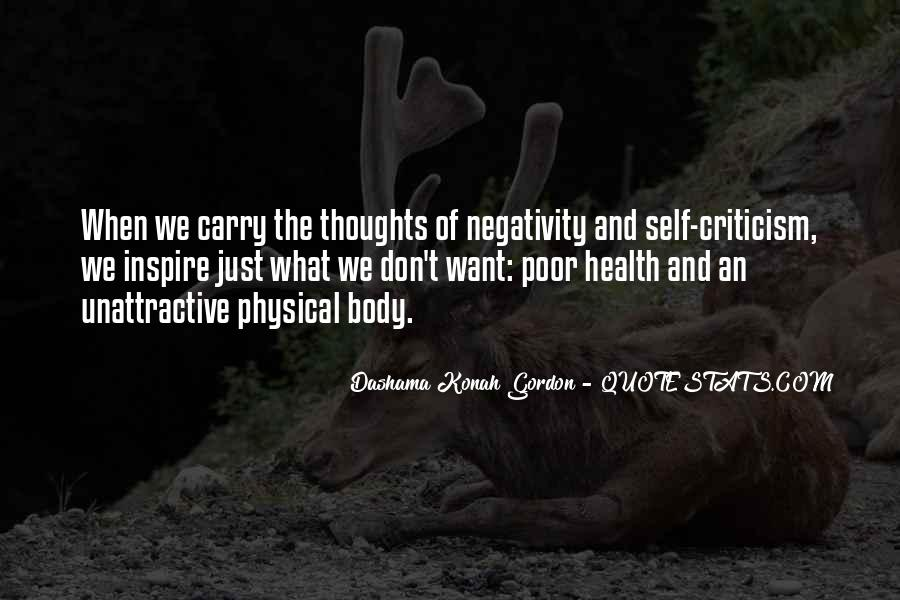 Say No To Negativity Quotes #145161