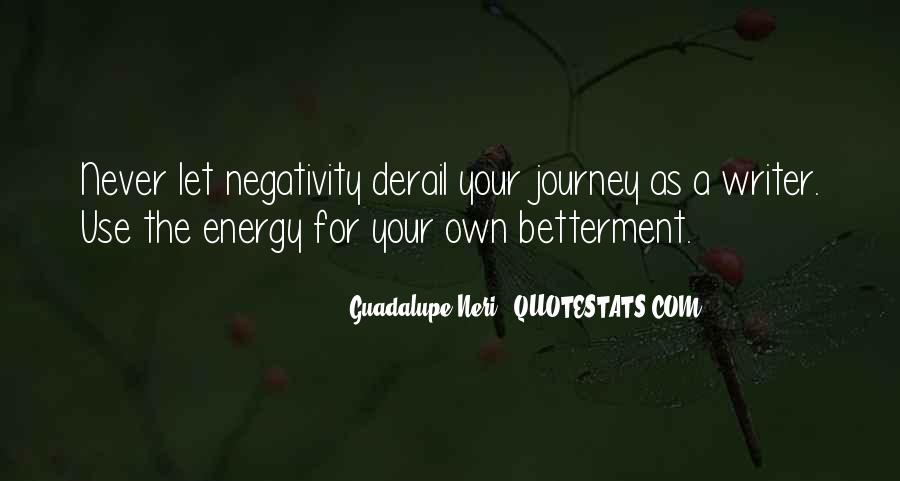 Say No To Negativity Quotes #162875