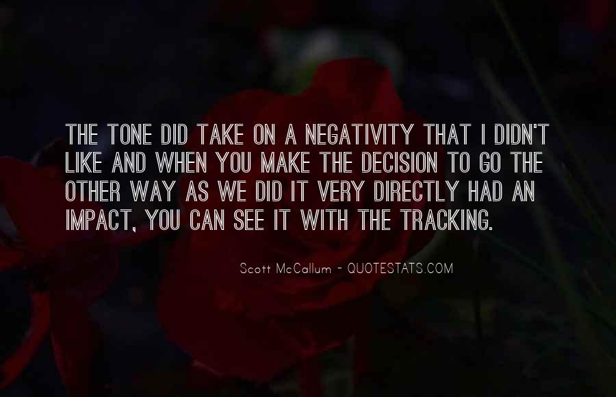 Say No To Negativity Quotes #191499