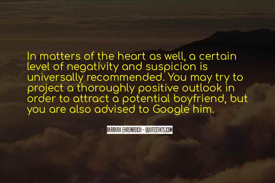 Say No To Negativity Quotes #200894