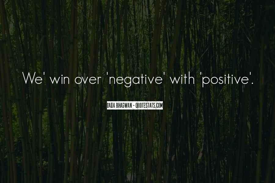 Say No To Negativity Quotes #215405
