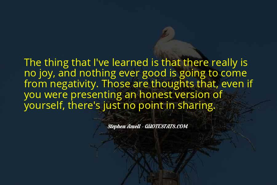 Say No To Negativity Quotes #229972