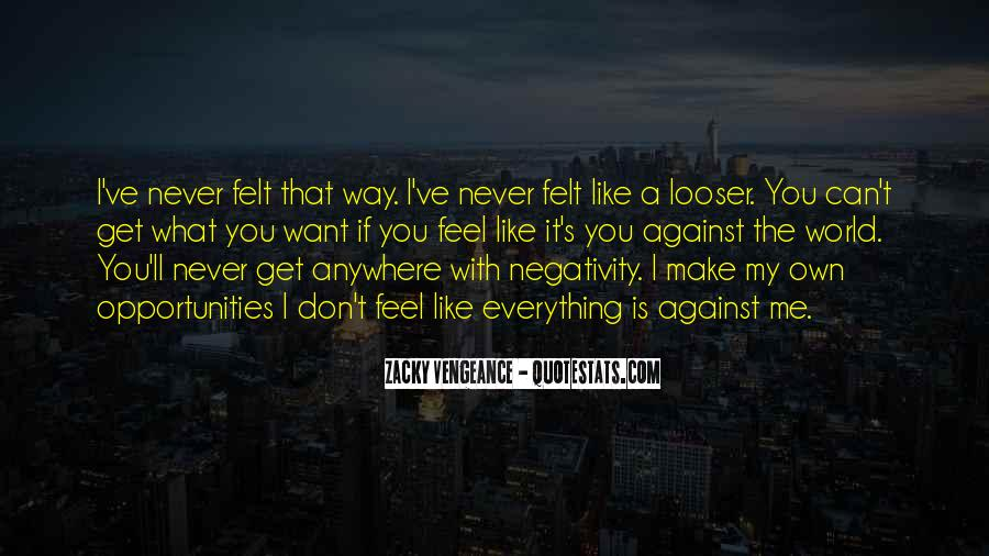 Say No To Negativity Quotes #264496
