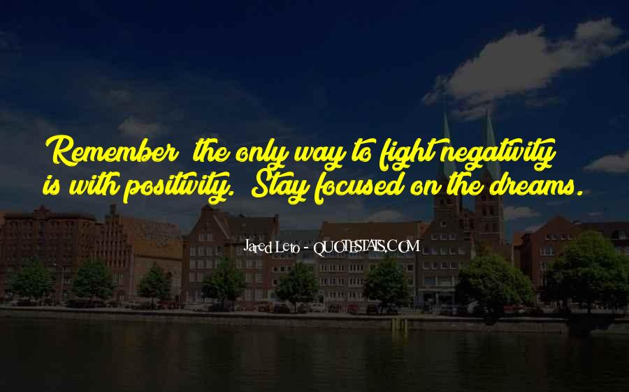 Say No To Negativity Quotes #264890