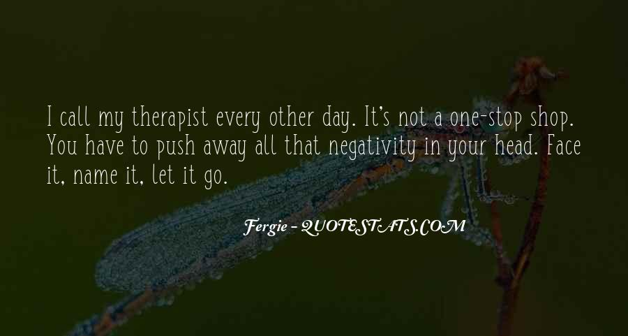 Say No To Negativity Quotes #299321